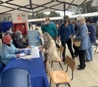 Más de 155 mil personas ya han sido vacunadas contra el Covid-19 en Viña del Mar
