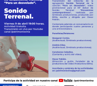 Grupo musical Sonido Terrenal relanza videoclip e invita a conversatorio online este viernes en Viña del Mar