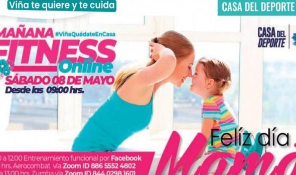 Municipio de Viña del Mar invita a participar en actividades on line por el mes de la madre