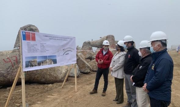 En julio culminará primera etapa de obras de protección de Av. Perú