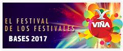 Bases Festival de la Canción Viña del Mar 2017