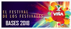 Bases Festival de la Canción Viña del Mar 2018