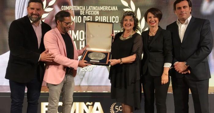 Alcaldesa Virginia Reginato, clausura FICVIÑA