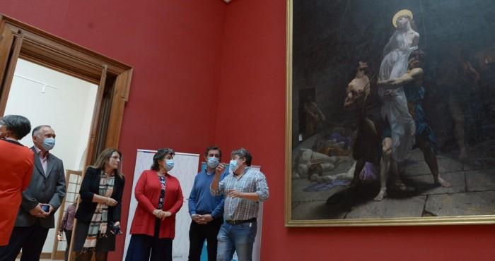 Recepción obras de arte Palacio Vergara